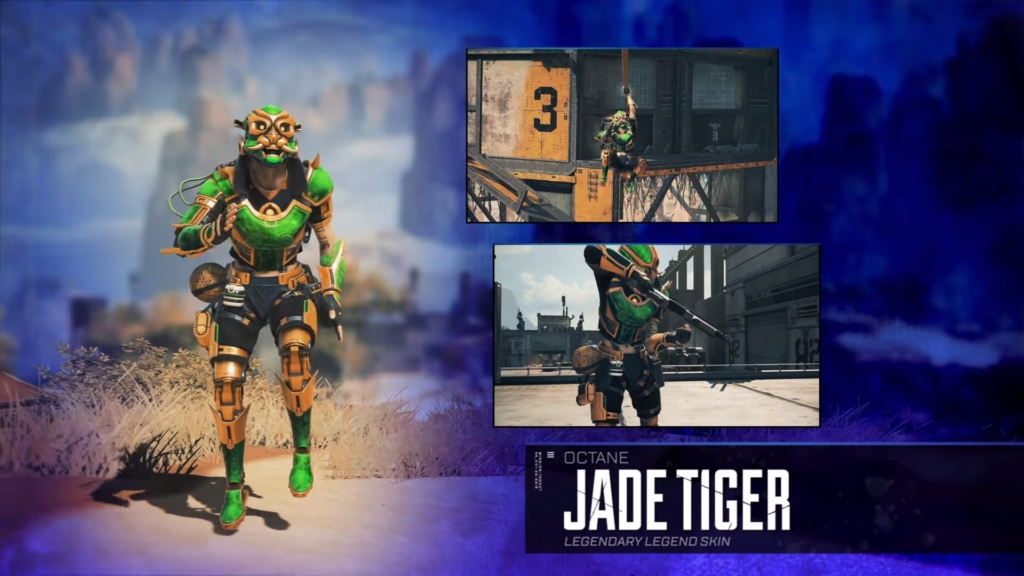 Apex Legends Jade Tiger Octane