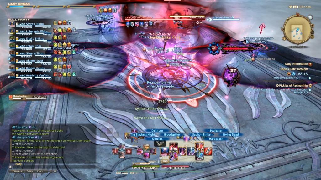 Eden Descent Raid FF14