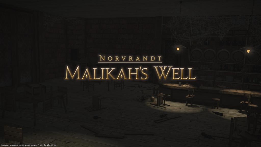 FF14 Malikah's Well Dungeon Guide