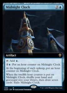 mtg midnight clock