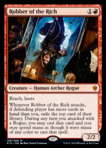 mtg robber of the rich
