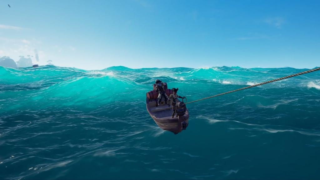 Sea of Thieves Harpoon Rowboats