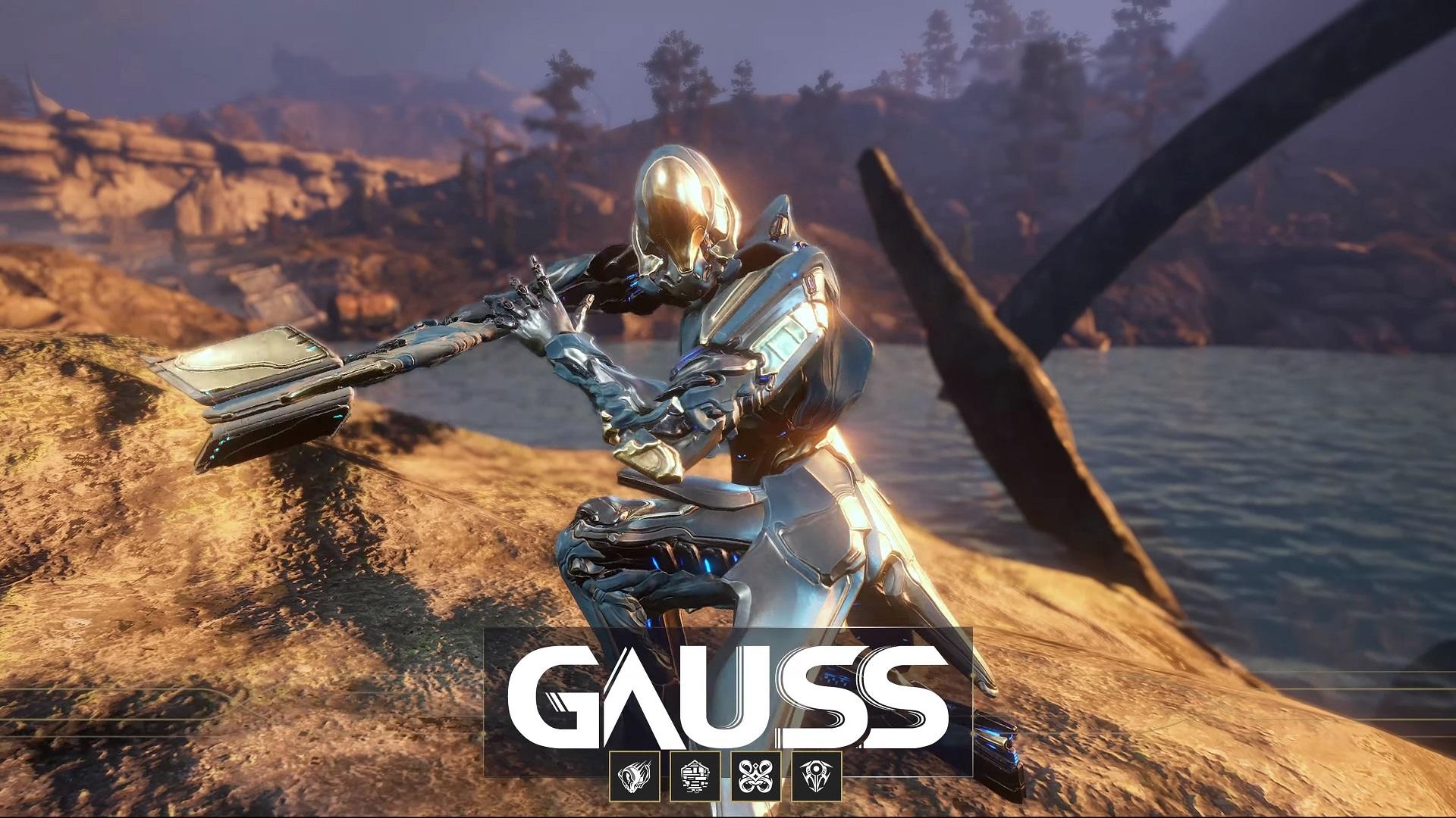 Warframe Gauss Update