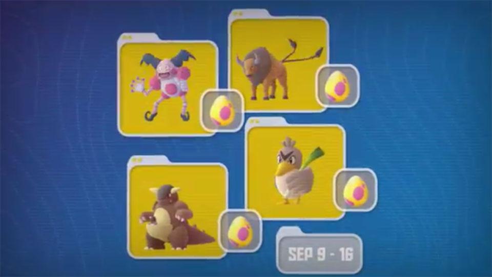 Pokemon GO Ultra Bonus shiny regionals