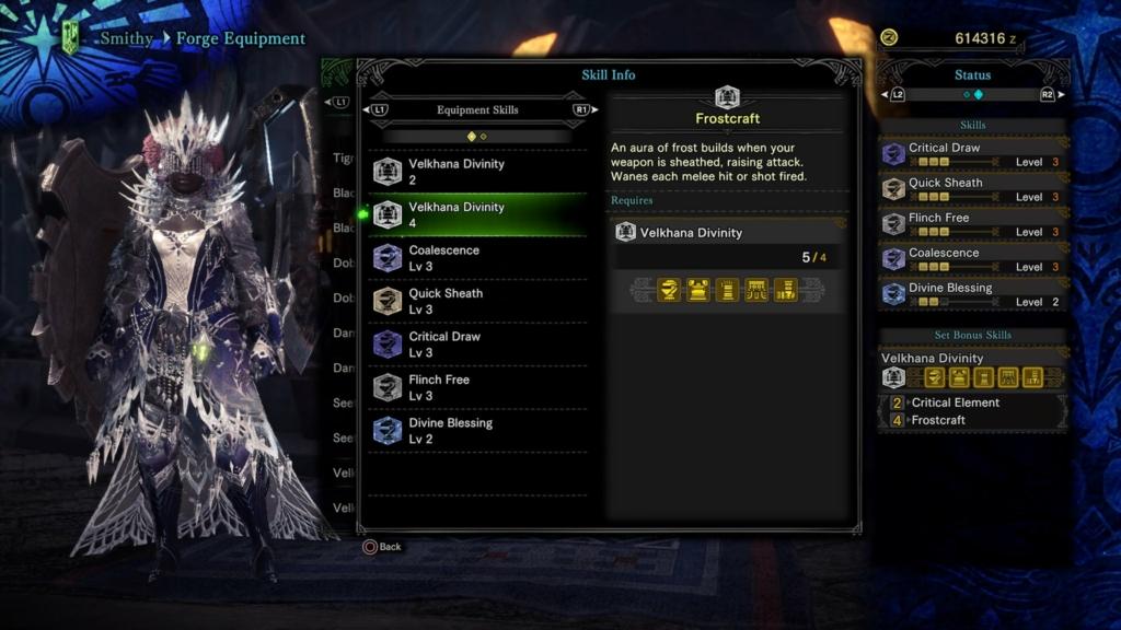 Monster Hunter Velkhana Set