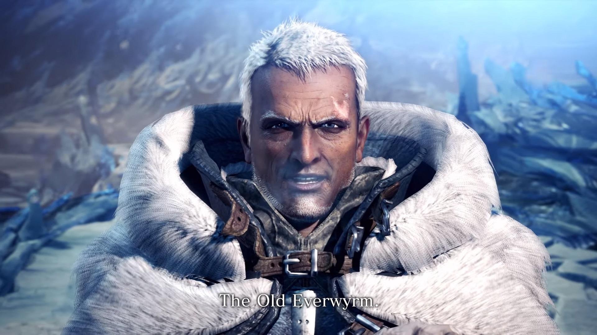 Iceborne Old Everwyrm Final Boss