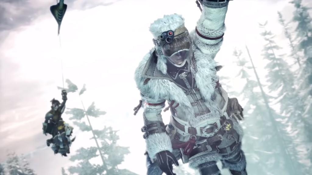 Monster Hunter Fast Travel Iceborne