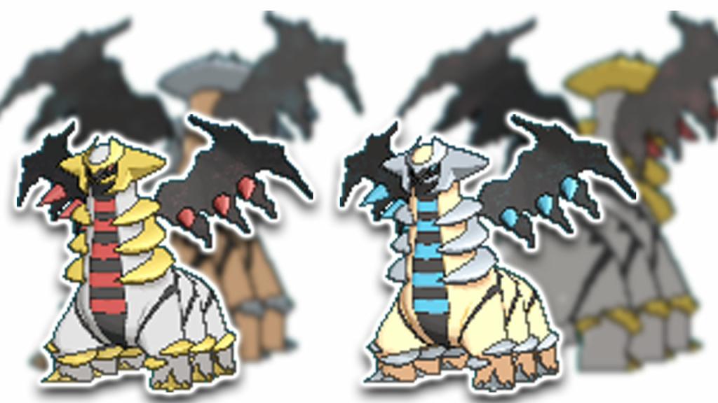 Pokemon GO Giratina altered form form