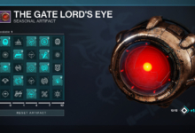 Photo of Destiny 2 Gate Lord's Eye Guide – All Seasonal Artifact Mods