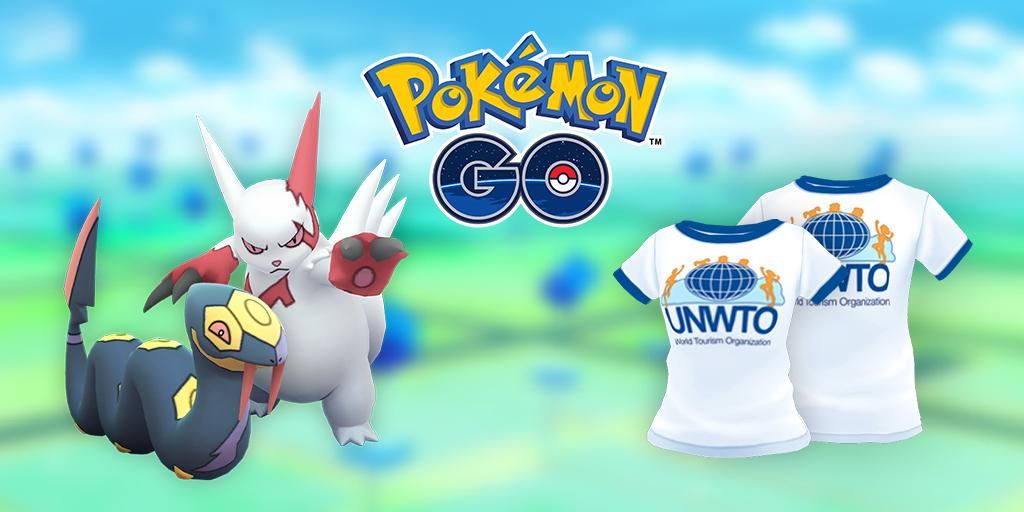 Pokemon GO World Tourism Day event bonuses