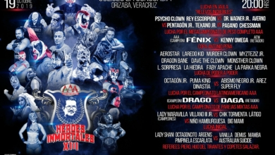 Photo of Pro Wrestling Schedule for the Week of 10/14/19