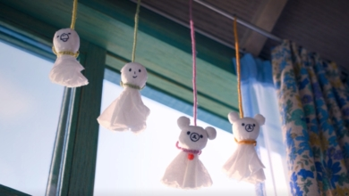 Photo of Fanbyte Makes: Tissue Ghosts from Rilakkuma and Kaoru