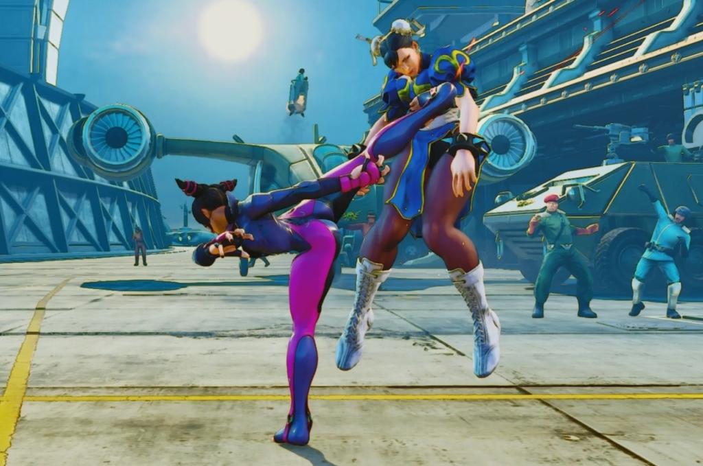 Juri vs Chun-Li, Street Fighter V