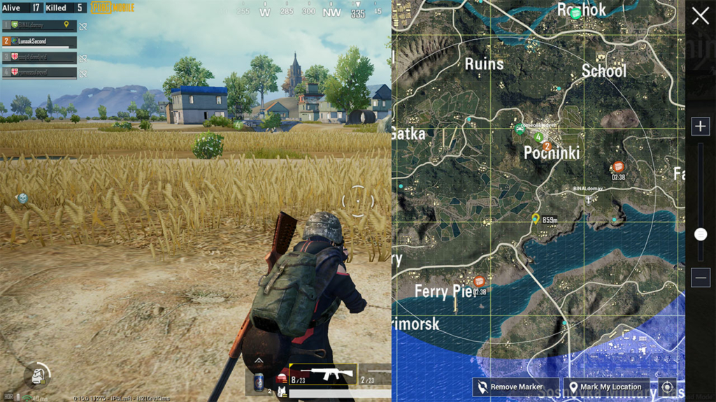PUBG Mobile Payload air drop locations