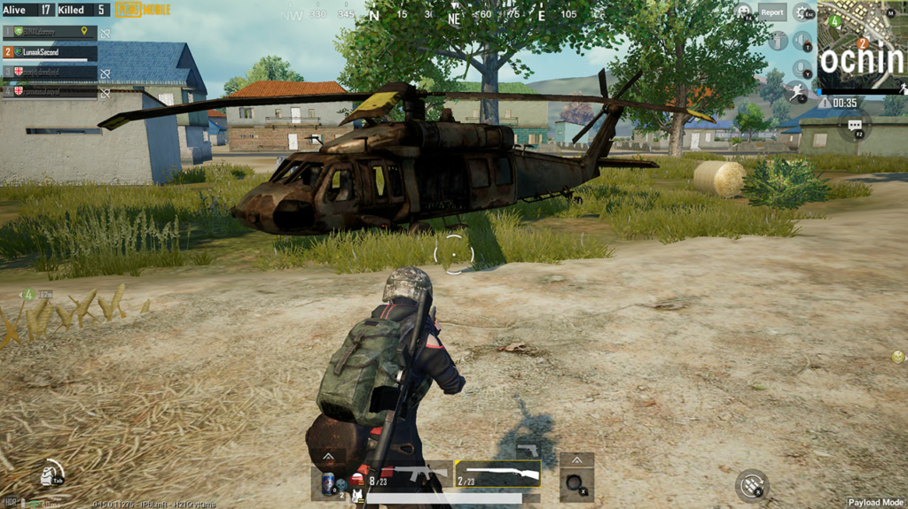 PUBG Mobile Payload helicopter locations