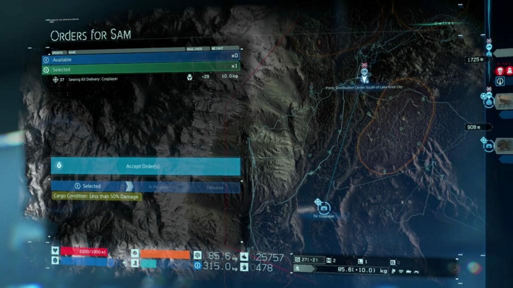 Cosplayer Death Stranding Tips