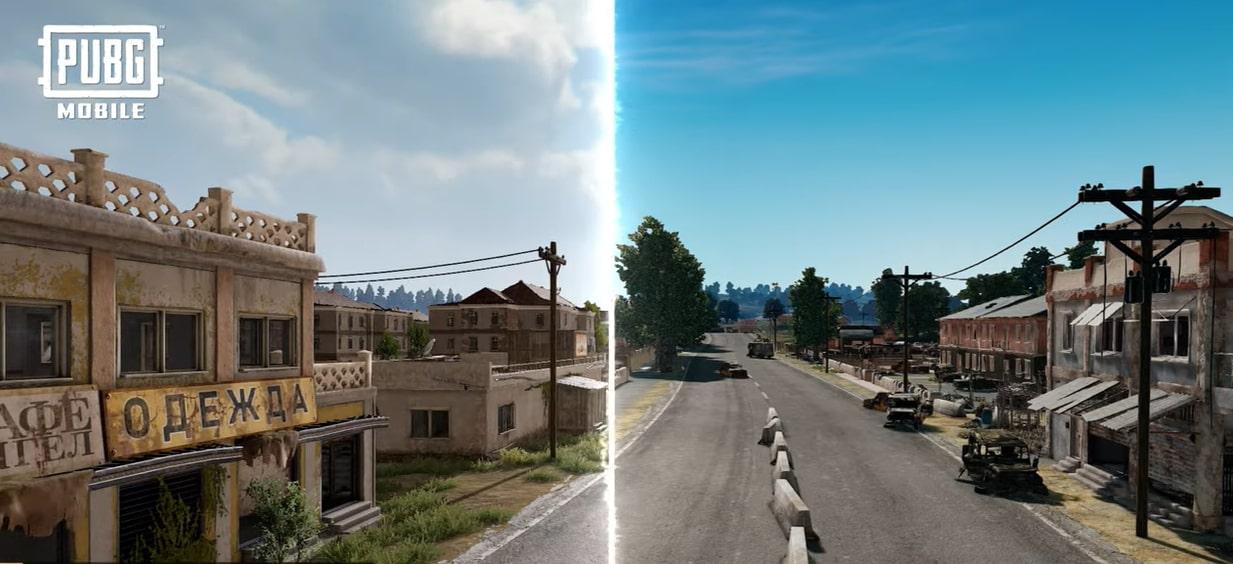 Erangel 2.0 comparison