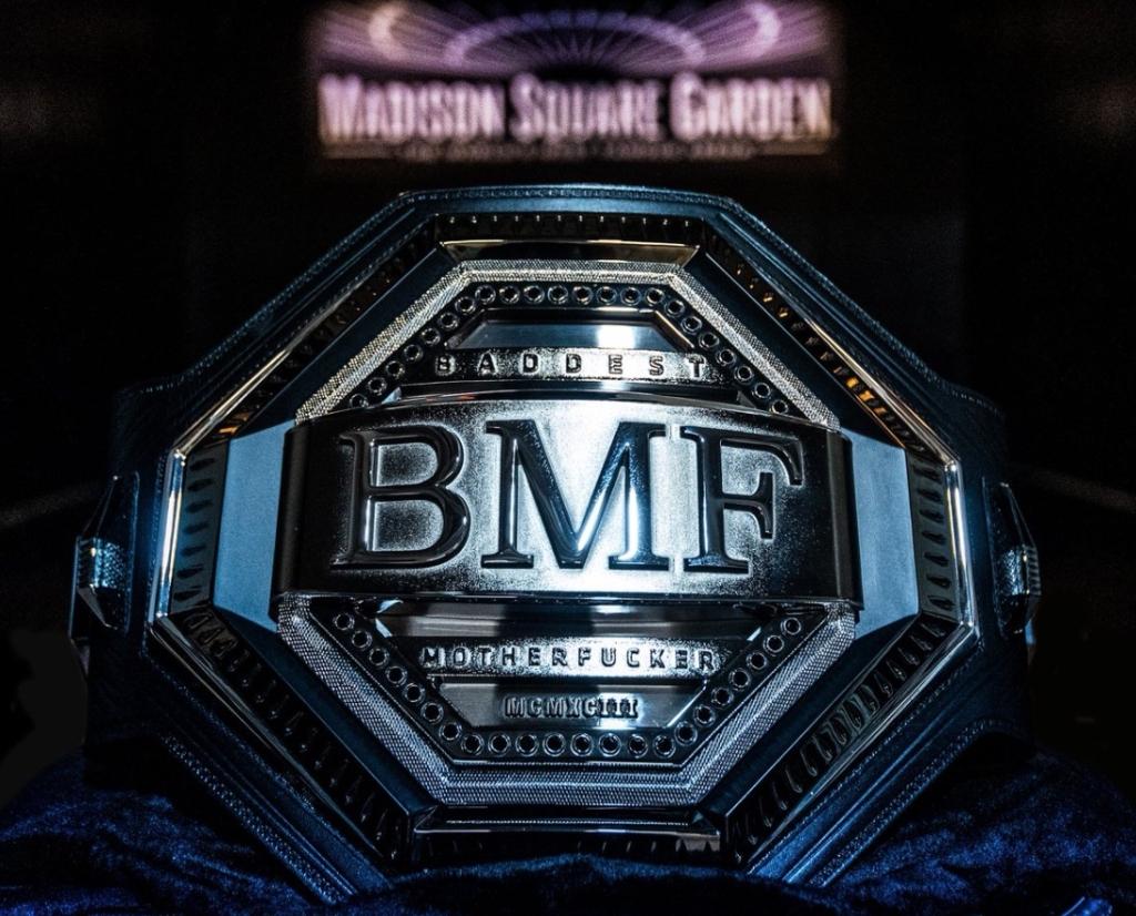 UFC Baddest mofo belt