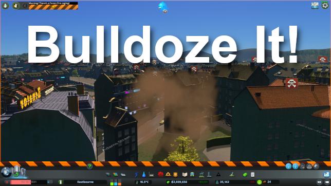 cities skylines bulldoze it
