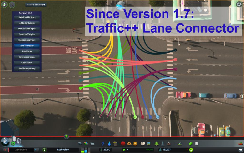 cities skylines lane selector