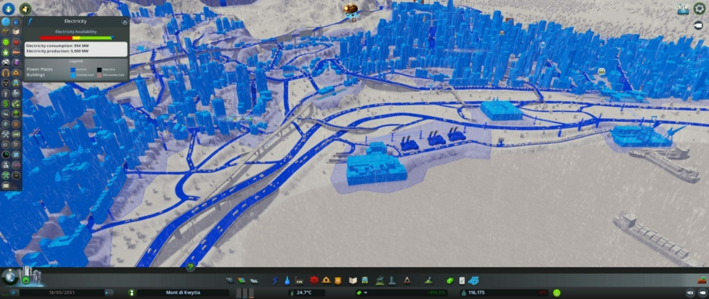 cities skylines electric roads