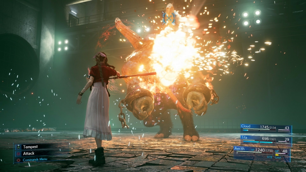 ff7 remake aerith special ability