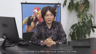 Photo of Sakurai Enthusiastically Shows Off Terry Bogard In Smash Ultimate