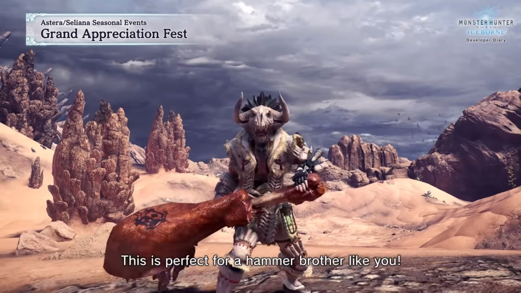 MHW Well Done Hammer