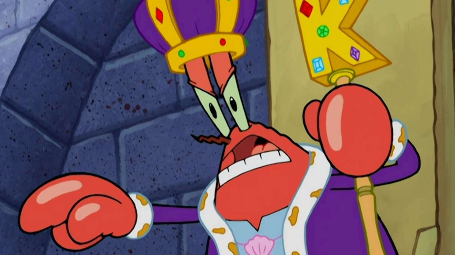 SpongeBob Krabs