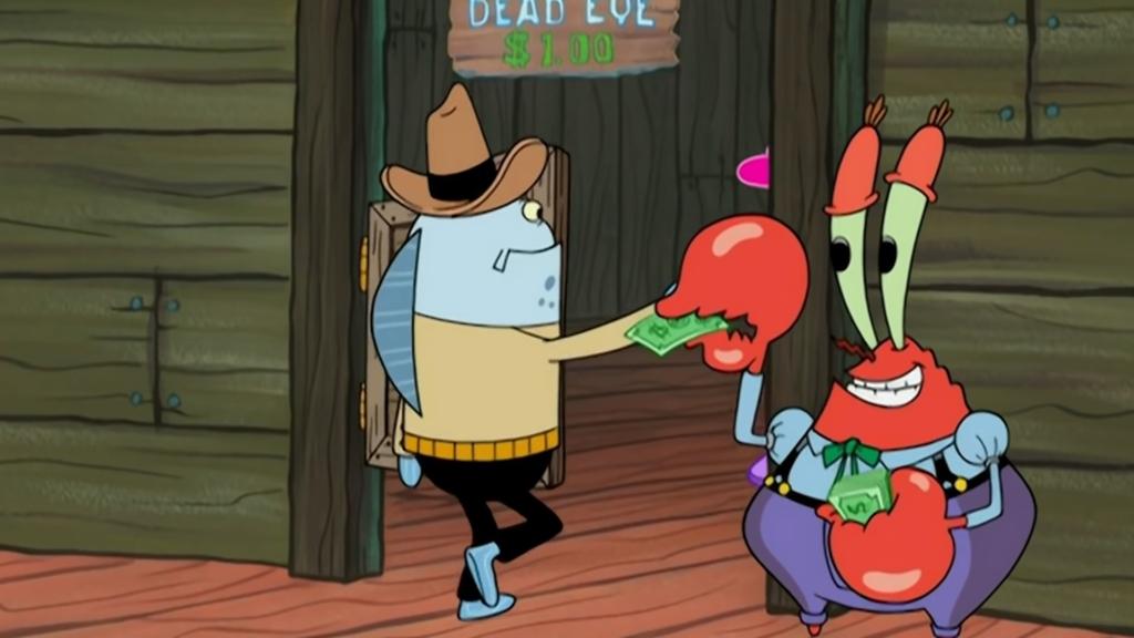 Spongebob capitalism