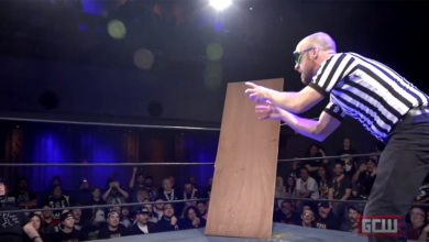 Photo of 2019 in Wrestling: Invisible Man vs Invisible Stan at Joey Janela's Spring Break 3
