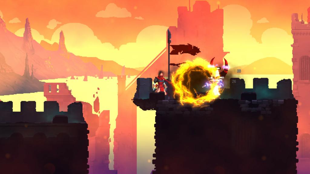 dead cells sunset