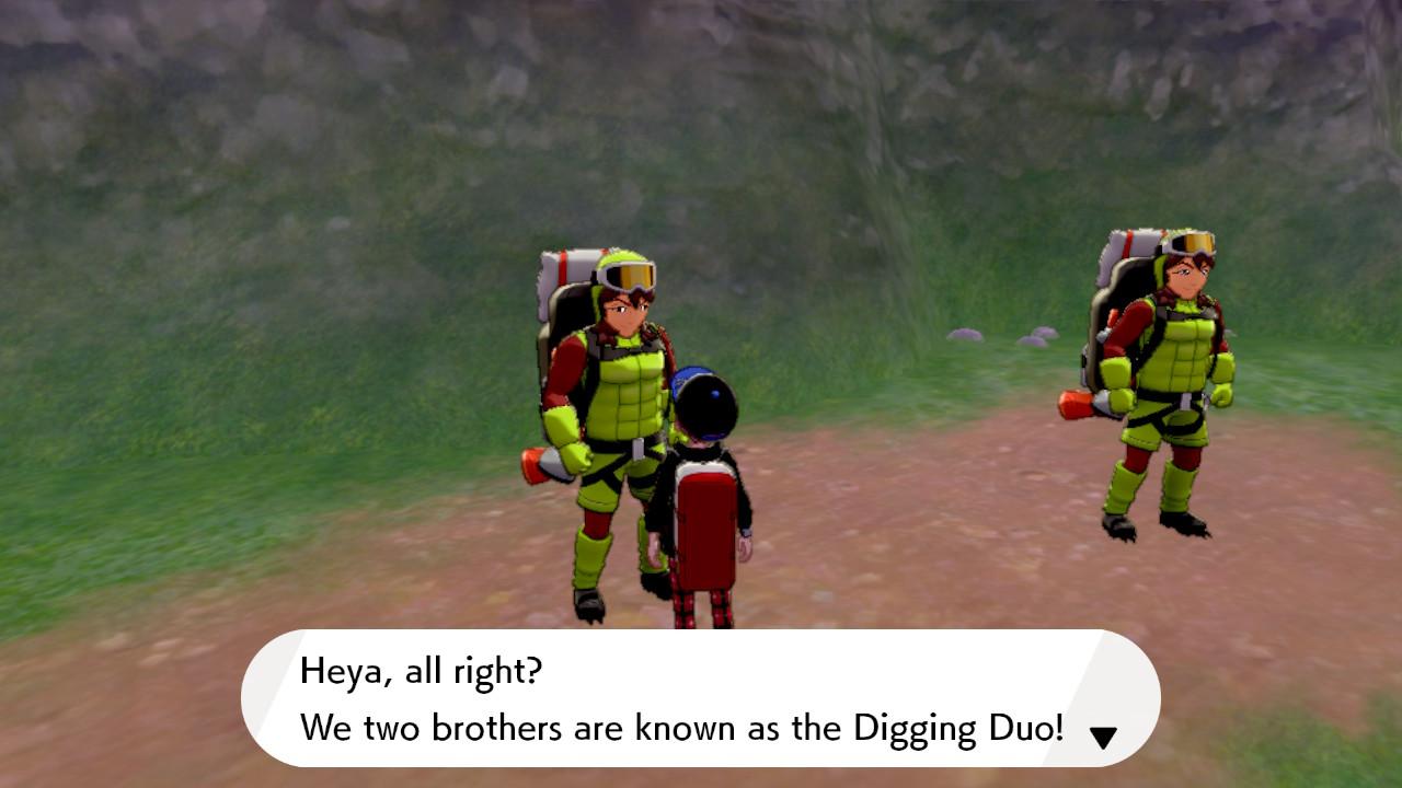 digging duo
