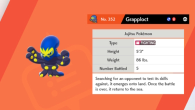 Photo of How to Evolve Clobbopus into Grapploct with Taunt TR – Pokemon Sword and Shield Clobbopus Guide