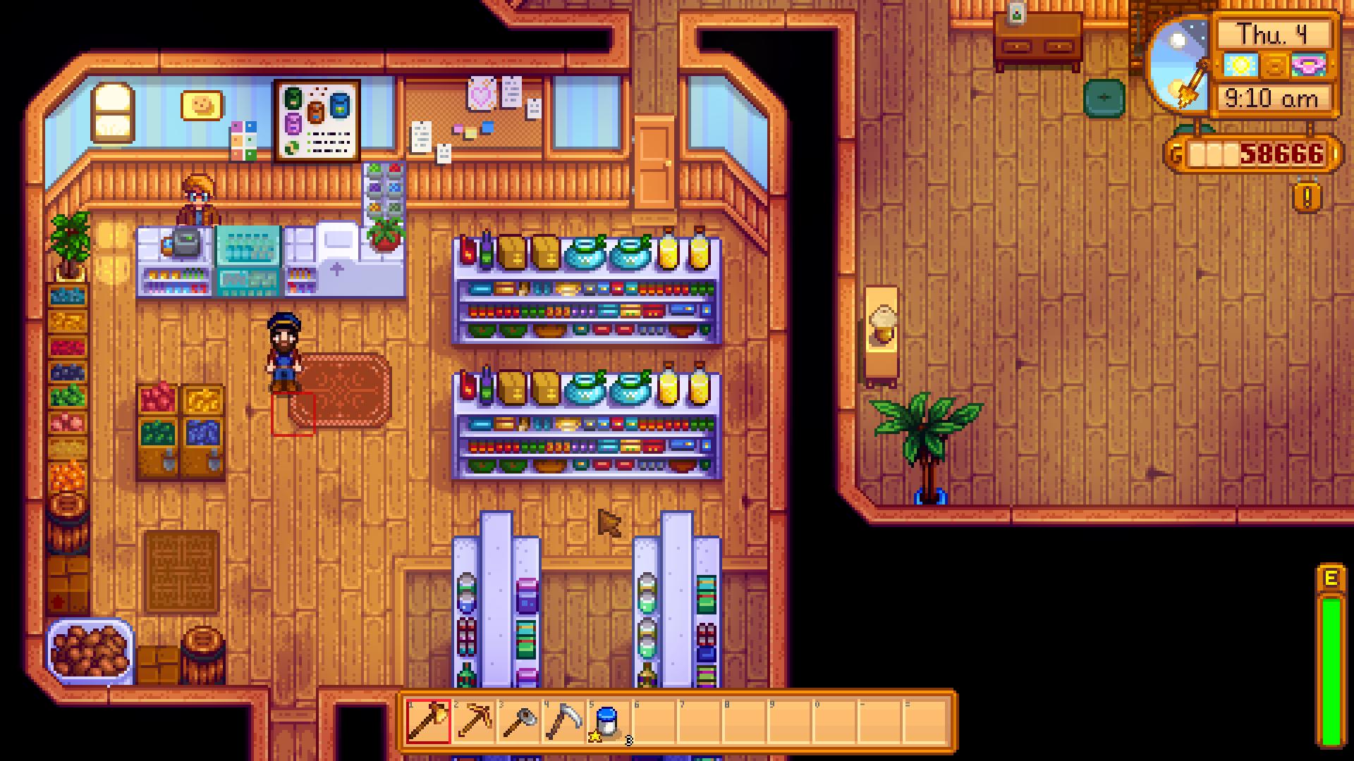 pierre's shop