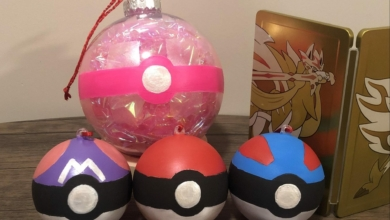 Photo of Fanbyte Makes: Pokéball Ornaments