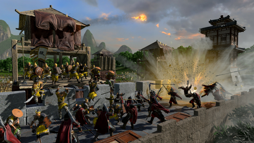 total war three kingdoms mandate of heaven dlc yellow scarves han empire