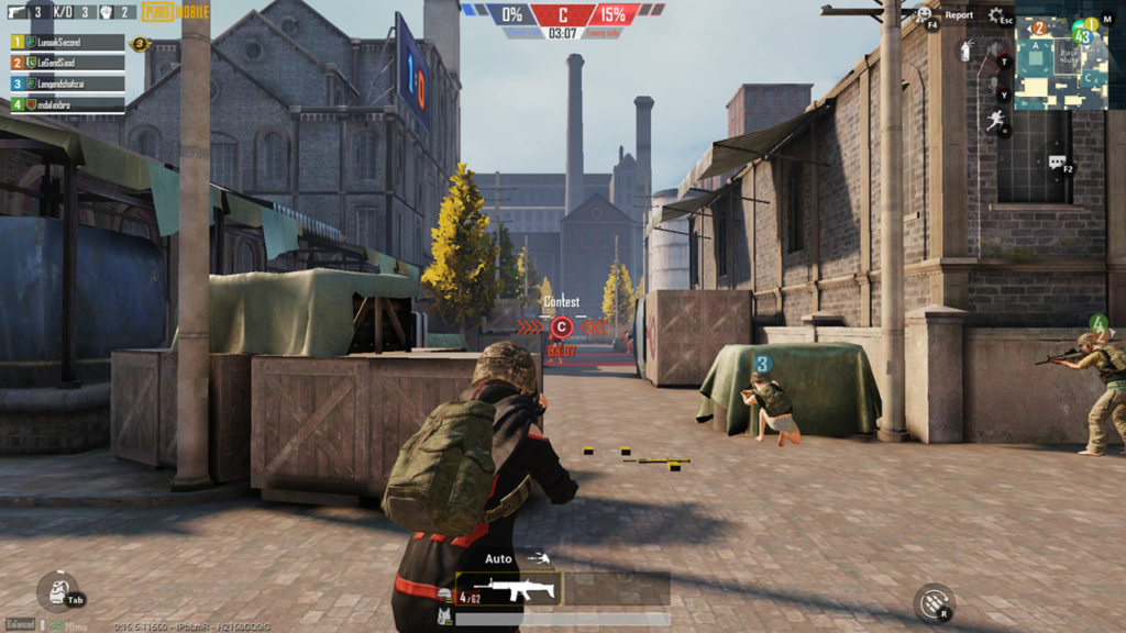 PUBG Mobile Domination C Site
