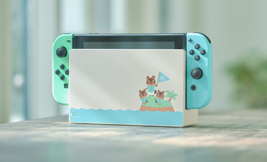 Animal Crossing Switch console