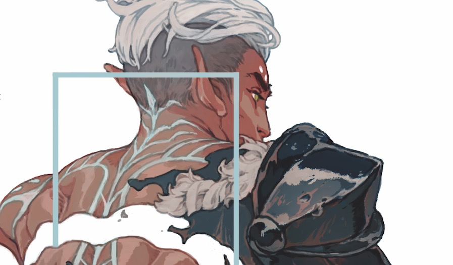Dragon Age Blue Wraith