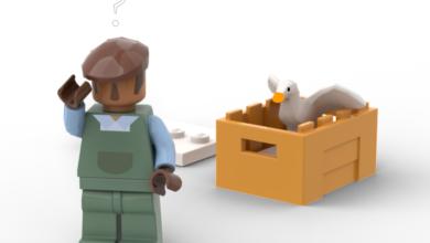 Photo of Fan-Proposed Untitled Goose Game Lego Set Lets You Beak Havoc
