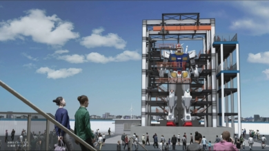 Photo of Next Life-Size Gundam to Put the 'Mobile' in Mobile Suit This October