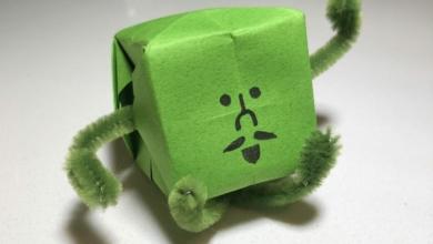 Photo of Fanbyte Makes: 'Wattam' Origami