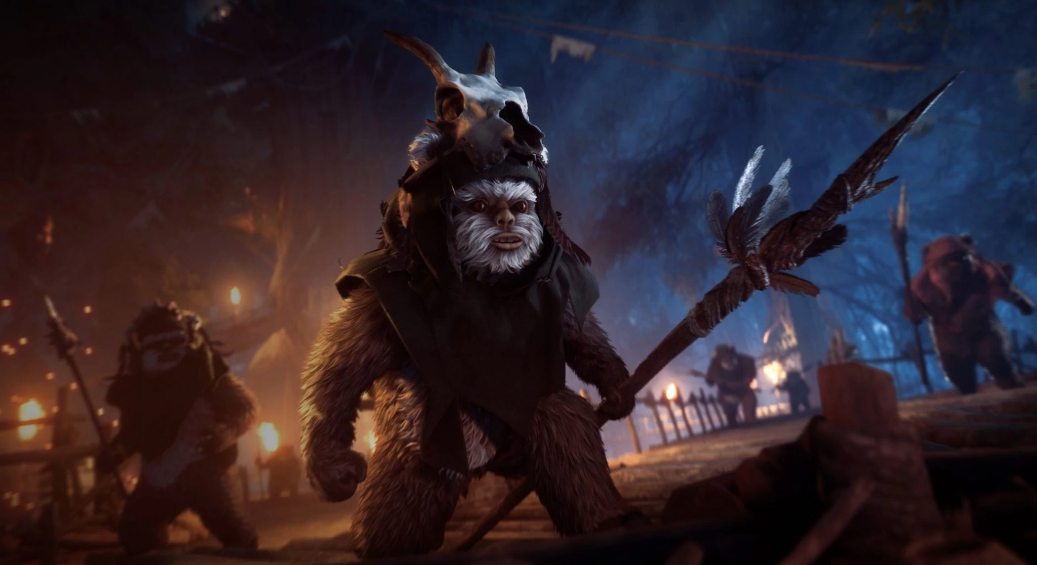star wars battlefront 2 ewok hunt