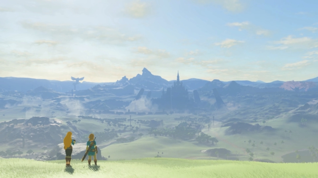 breath of the wild ending