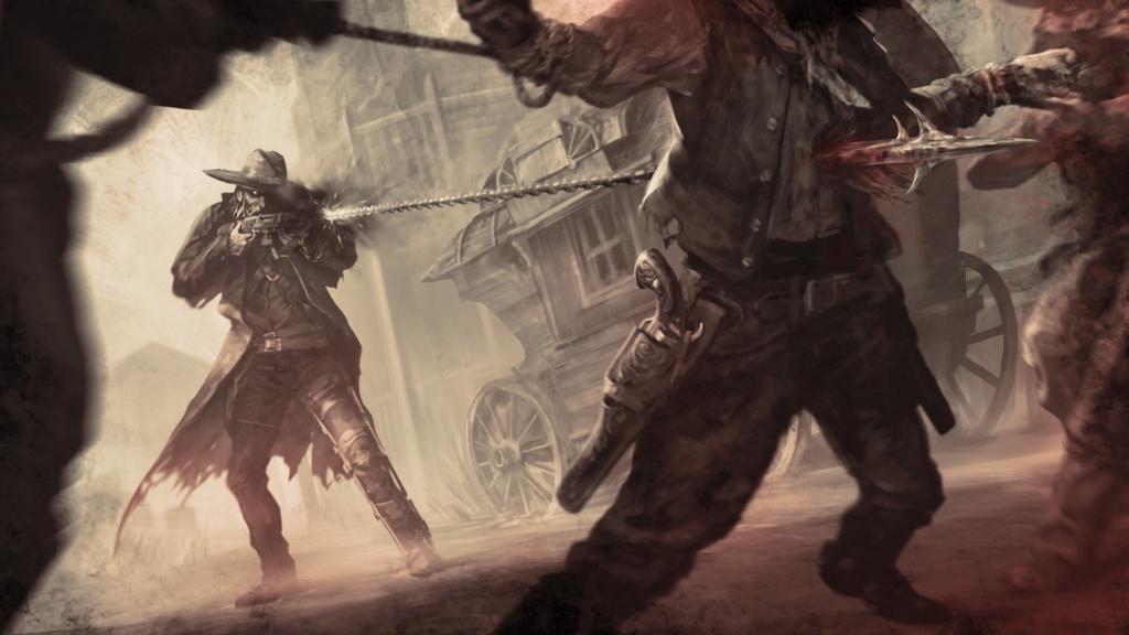dead by daylight deathslinger killer lore art