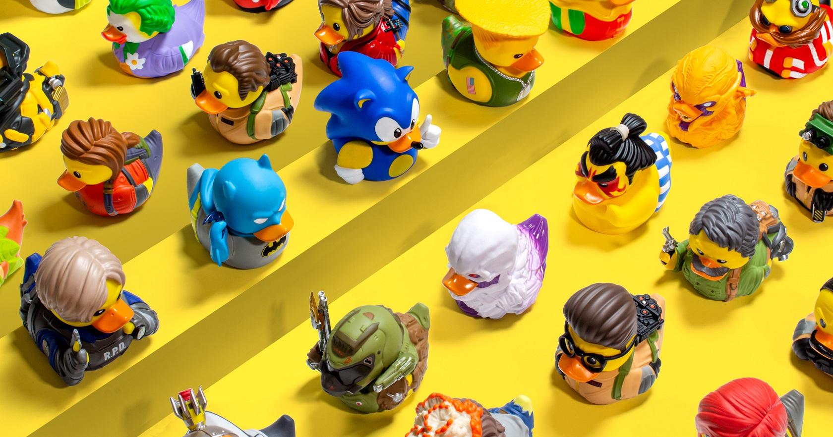 geek nerd rubber ducks