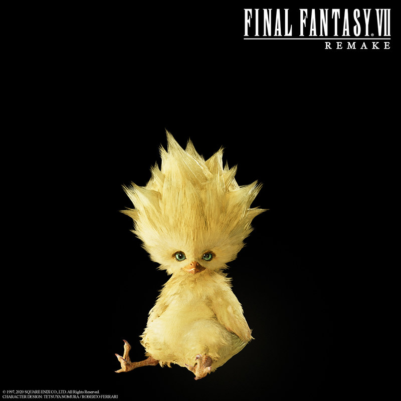 chocobo chick final fantasy 7 remake ff7 ffvii