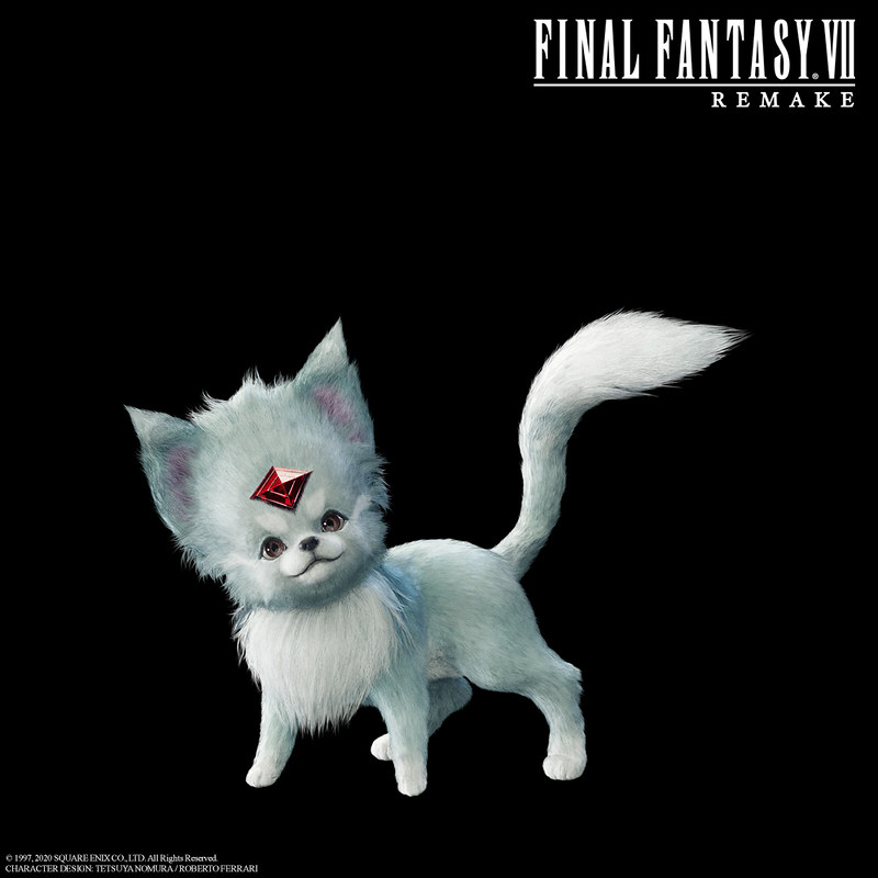 final fantasy 7 remake ff7 ffvii carbuncle