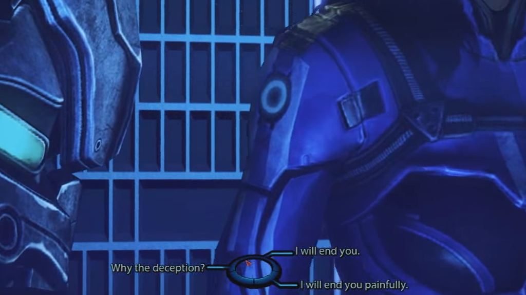 mass effect end you painfully